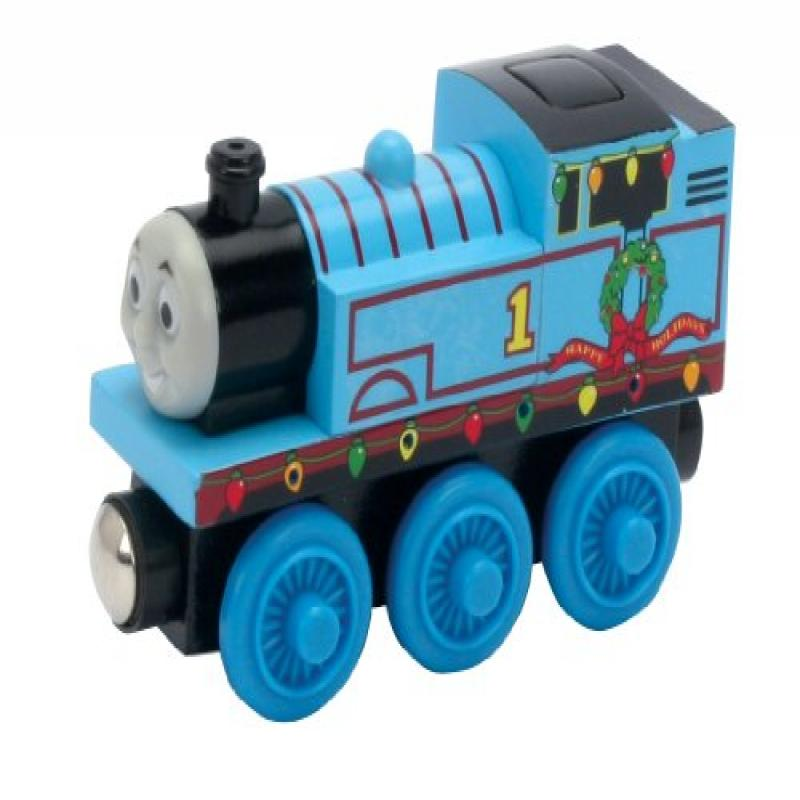 Thomas And Friends Wooden Railway - Holiday Lights Thomas