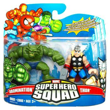 """Marvel Super Hero Squad Series 17 Thor & Abomination 3"""" Action Figure 2-Pack"""