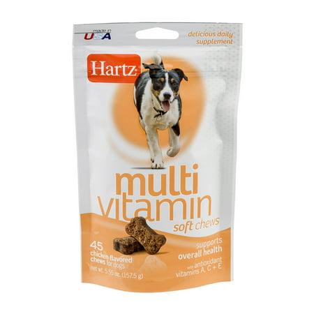 Hartz multivitamines douce Bouchées de poulet, 5,55 OZ