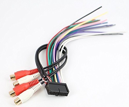 [DIAGRAM_4PO]  ASC Audio Car Stereo Radio Wire Harness for Jensen 20Pin CD6112 CD3610  MP5610 CD335X CD450K VM8012 VM8013 - Walmart.com - Walmart.com | 20 Pin Wire Harness |  | Walmart