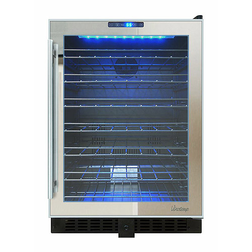 Vinotemp Mirrored Touch Screen Beverage Cooler