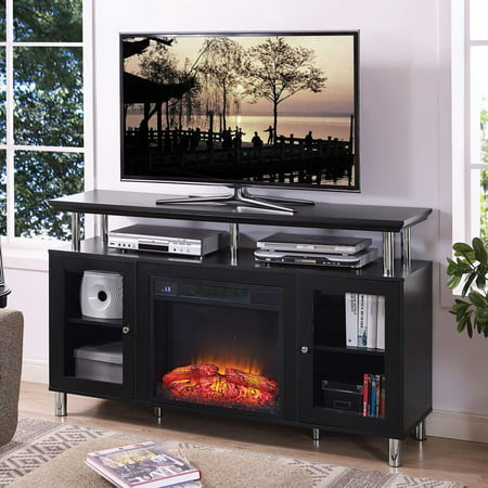 Home Source TV Stand Convertible To Electrical Fireplace Frame - (Scion Tc Convertible)