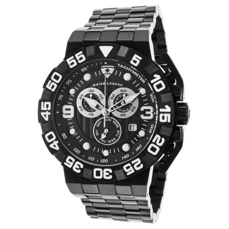 10125-Bb-11 Challenger Chronograph Black Ip Steel And Dial - Challenger Black Dial