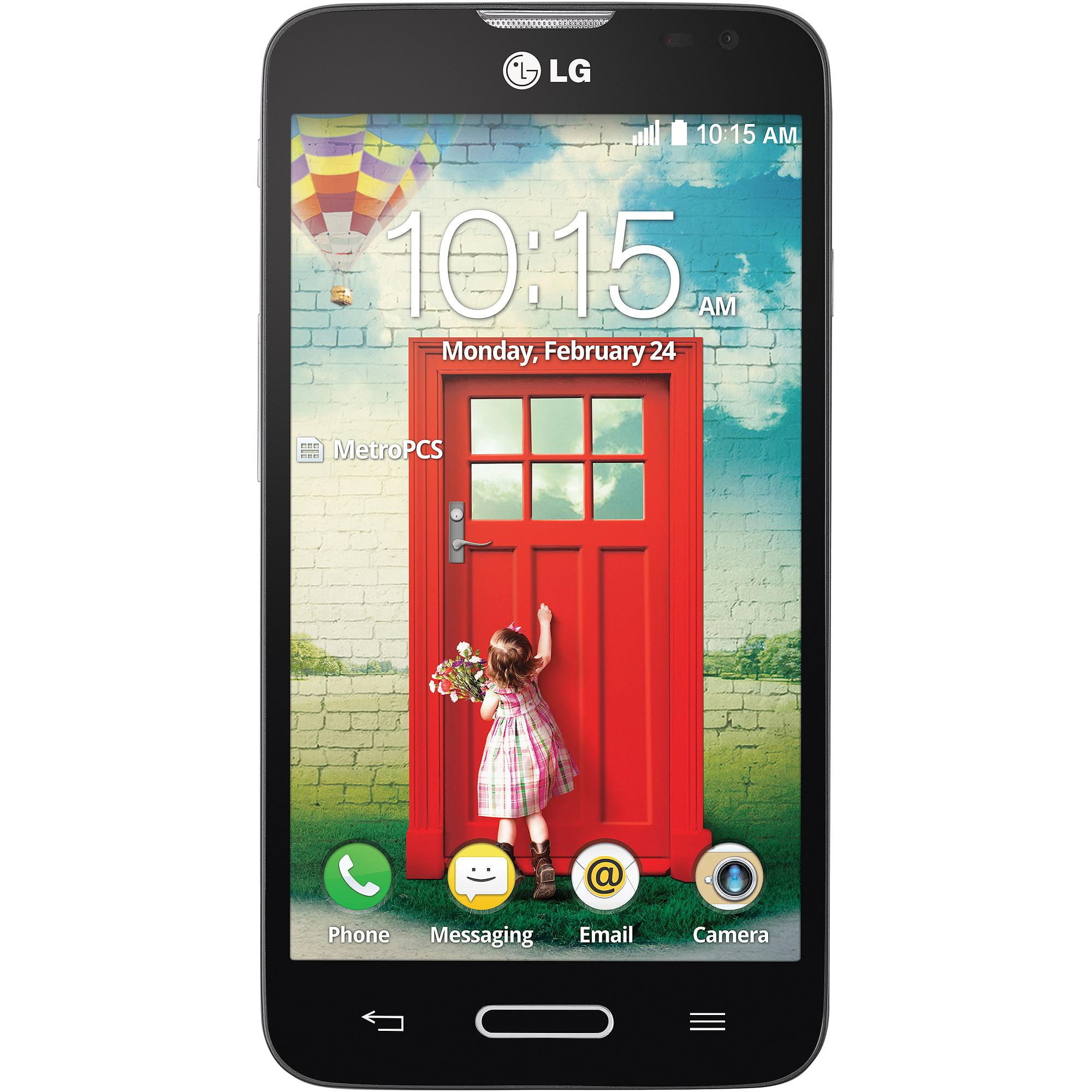 Metro PCS LG Optimus L70 Prepaid Smartphone