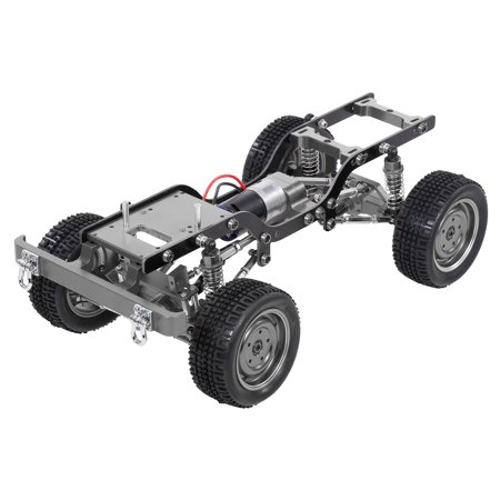 MN-D90 Replacement 190mm Full Metal Chassis Frame with Tires 370 Motor Transmitter Receiver Servo ESC for 1/12 RC Crawler Car DIY Parts - image 4 of 7