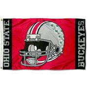 Ohio State Buckeyes Football Helmet 3' x 5' Pole Flag