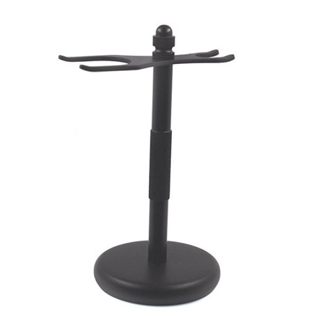 Men's Deluxe Razor and Brush Stand, Black Gbs manufactures high end shaving tools and accessories Excellent quality excellent price