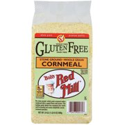 Bob's Red Mill Gluten Free Stone Ground Whole Grain Cornmeal, 24 oz (Pack of 4)