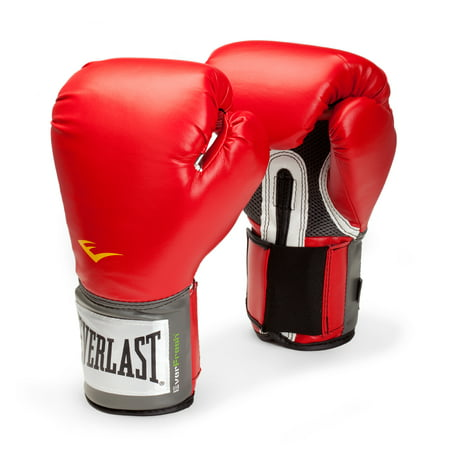 Everlast Pro Style Boxing Gloves, 16oz, Red Alpha Pro Gloves