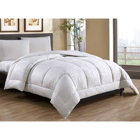 Bamboo Bedding (Cotton Caribbean Joe Tonal Bamboo Printed Down Alternative Bedding Comforter, Multiple Sizes Available )