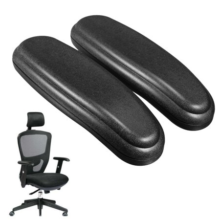 2pcs universal soft pu arm rest replacement office chair armrest elbow arm pad cover. Black Bedroom Furniture Sets. Home Design Ideas