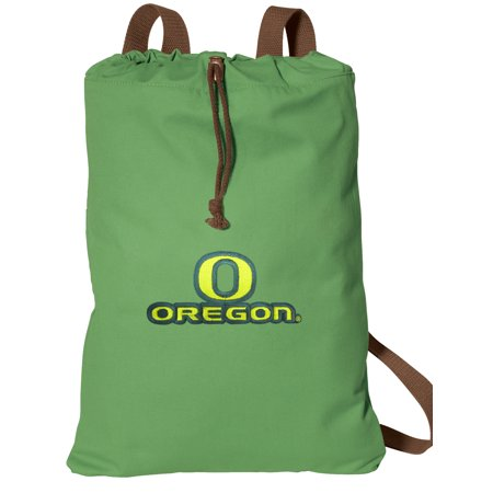 Cinch Natural - University of Oregon Drawstring Backpack NATURAL COTTON UO Cinch Bag