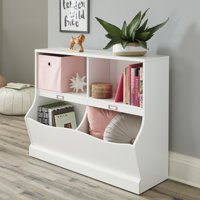 Sauder Storybook Storage Bin Bookcase, Multiple Finishes