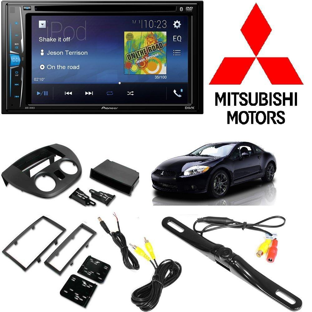 Pioneer Touchscreen DVD Bluetooth Stereo Receiver Android iphone Support 2006-2012 Mitsubishi Eclipse SINGLE... by Cache%2C Metra%2C American International%2C Pioneer