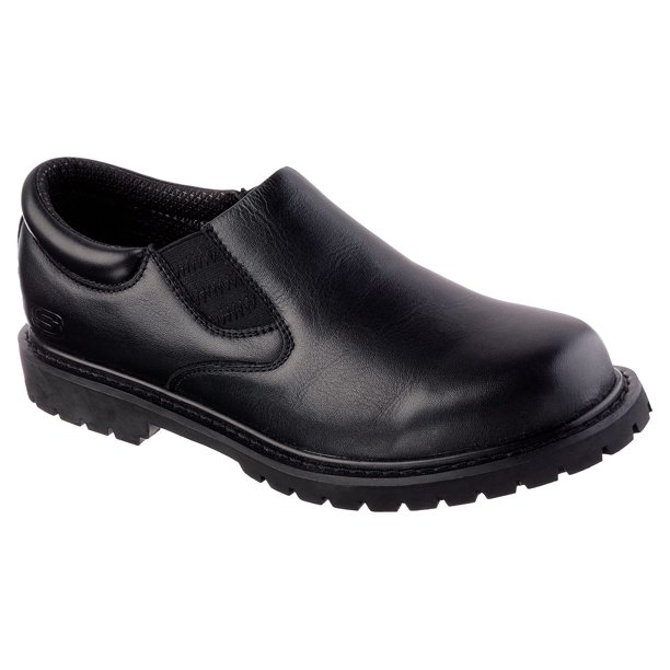 Skechers Work - Skechers Work Men's Cottonwood Goddard Twin Gore Slip-Resistant  Slip On Shoes - Walmart.com - Walmart.com