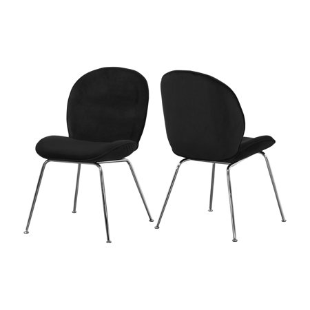 - Meridian Furniture Inc Paris Upholstered Dining Side Chair - Set of 2
