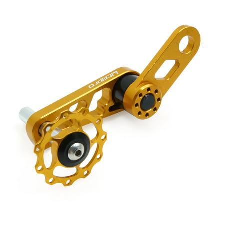 Alliage Aluminium doré Convertisseur Vitesse tendeur cha ne pour Moto Plateau Ovale - image 3 de 3