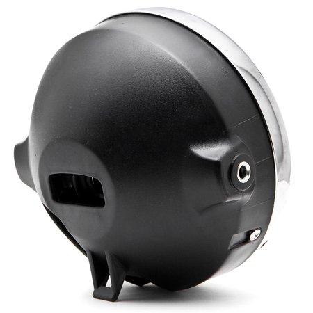 Krator 7.75'' Chrome Headlight H4 Bulb Round Lamp for Victory V92C V92SC V92TC Deluxe Classic - image 3 de 6