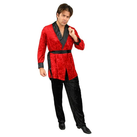 Smoking Jacket Red Adult Costume - Matador Jacket Costume