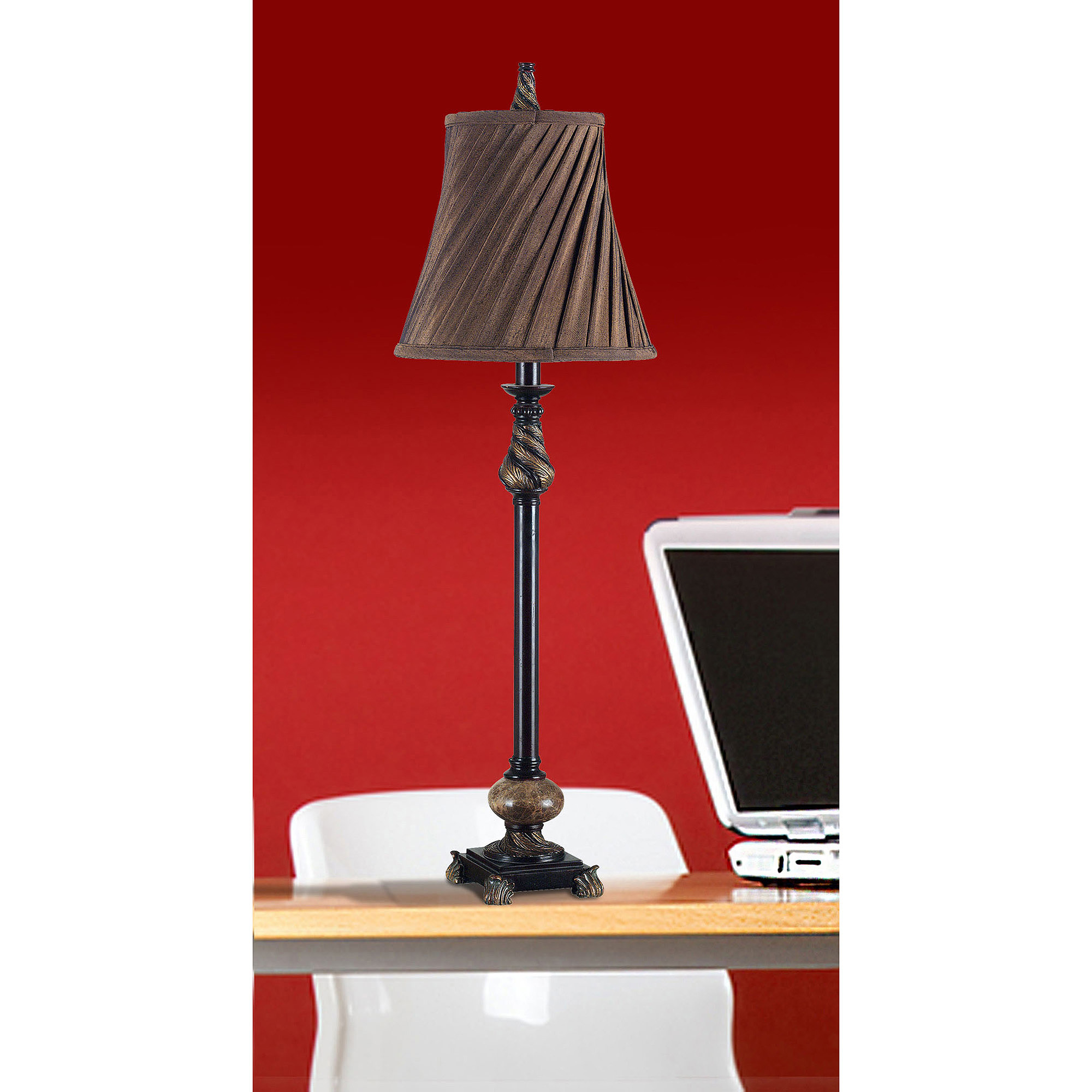 Kenroy Home Aruba Buffet Lamp Set, Oil Rubbed Bronze