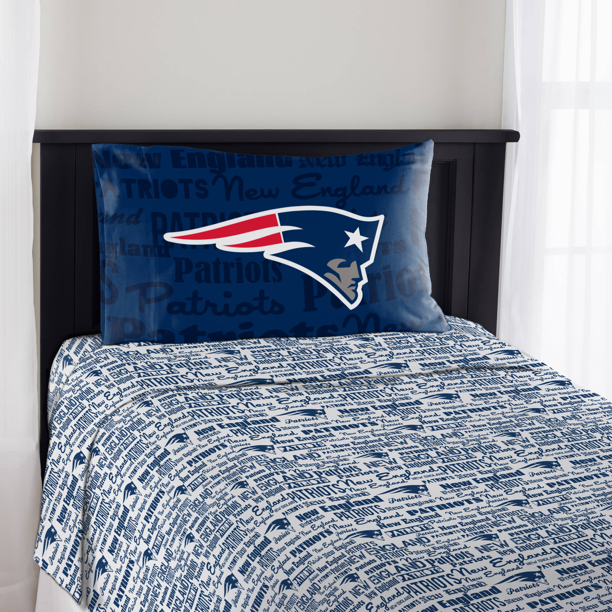 "NFL New England Patriots ""Anthem"" Sheet Set"