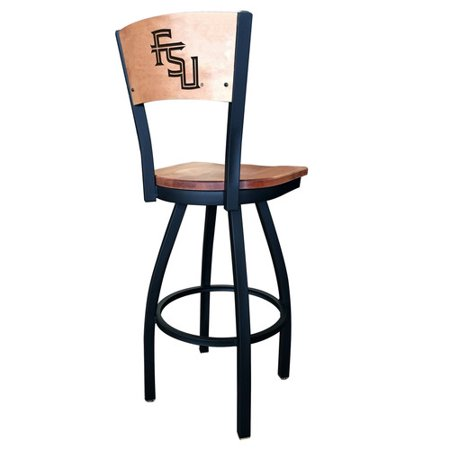 Holland Bar Stool NCAA Swivel Bar Stool with Cushion (Kermit The Frog And Miss Piggy Costumes)