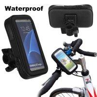 Waterproof Mount Holder Motorcycle Bike Bicycle Handlebar Mount Holder Case For i phone Sam sung