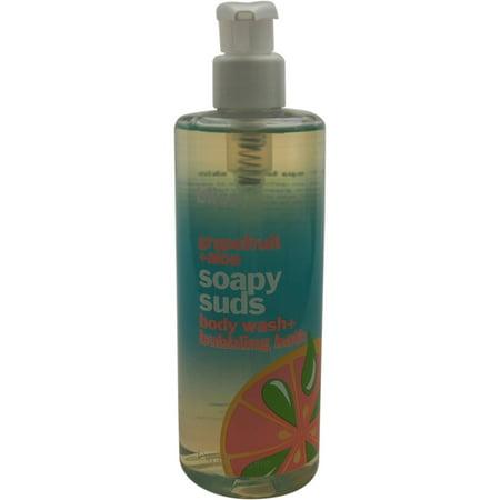 Bliss Grapefruit   Aloe Soapy Suds Body Wash   Bubbling Bath  16 Fl Oz