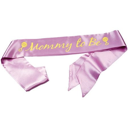 Wilton Mom-to-Be Sash Shower Keepsakes, 1 Ct