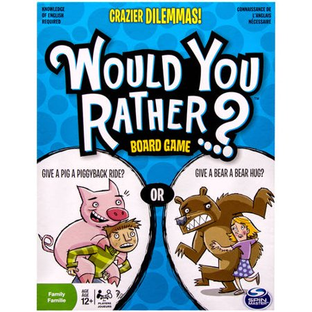 Would You Rather? Board Game