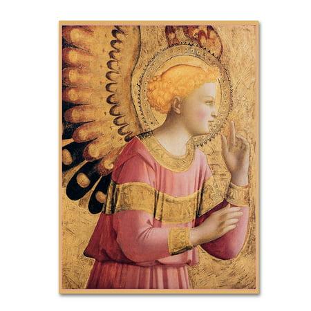 Trademark Fine Art 'Archangel Gabriel' Canvas Art by Vintage Lavoie (Archangel Gabriel Boy Or Girl)
