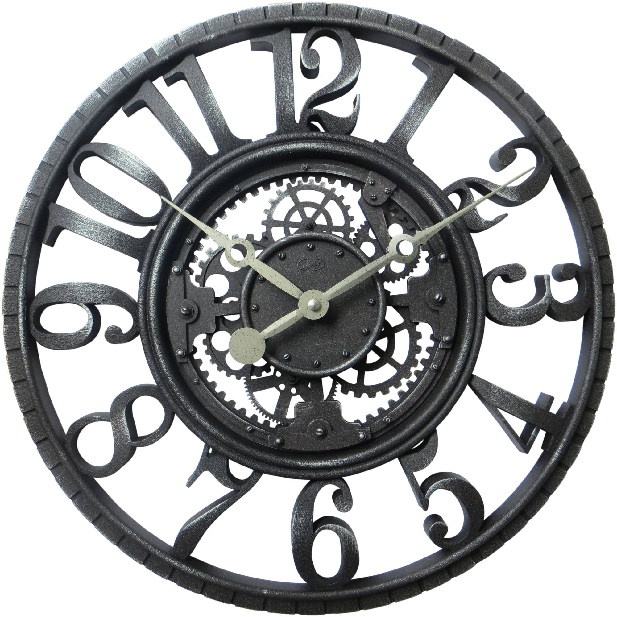Better Homes and Gardens 22  Antique Gear Wall Clock