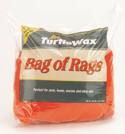Turtle Wax 2 Packs Bag Of Rags 16oz