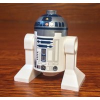 LEGO STAR WARS MINIFIGURE R2-D2 R2D2 DROID DARK BLUE HEAD 75059 75096 75092