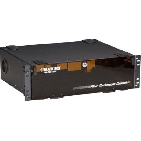 Series Rackmount Enclosure - Black Box Rackmount Fiber Enclosure - 3U