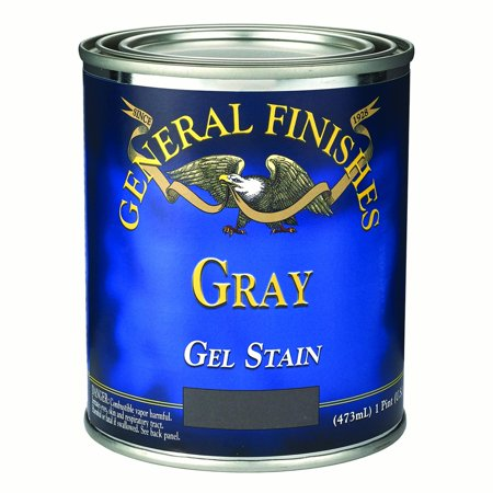 General Finishes Gray Gel Stain, (Antique Gray Finish)