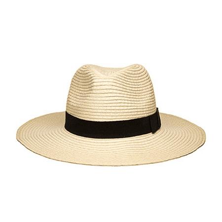 - Women's Wide Brim Fedora Hat Spring Summer 126SH