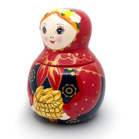 Unamoi MCJP Pot - biscuits en c-ramique Poup-e russe Matryoshka MCJP 10 - image 1 de 1
