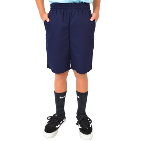 Old Navy Blue Shorts (Boy's Uniform Shorts - Navy Blue / X-Small)