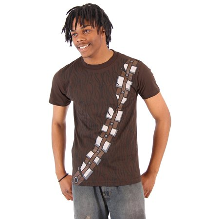 Star Wars I am Chewbacca Costume Adult Brown T-Shirt - Chewbacca Jacket