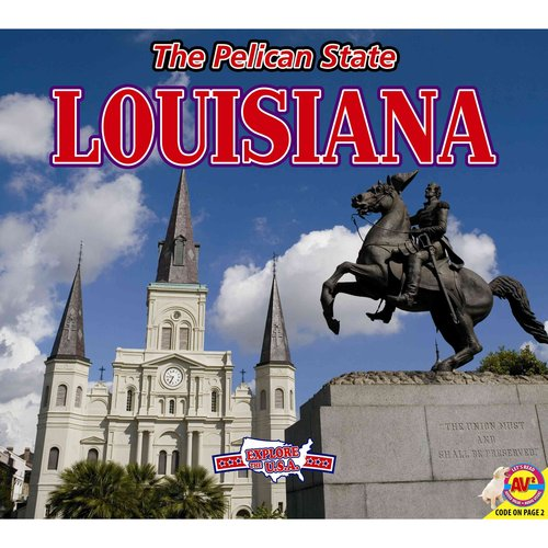 Louisiana, with Code: The Pelican State