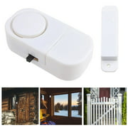 2PCS Wireless Door And Window Entry Alarm Battery Home System Secuirty Switch