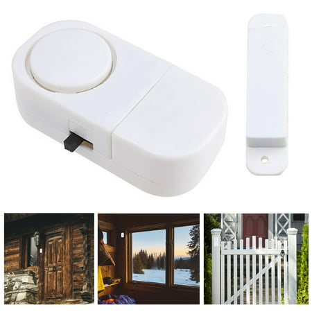 Keypad Entry Alarm - 6 x Wireless Motion Sensor Detectors Door Gate Entry Chime Alarm Security System