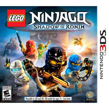 LEGO Ninjago: Shadow of Ronin (Nintendo 3DS) Warner (Top Ten Best 3ds Games)