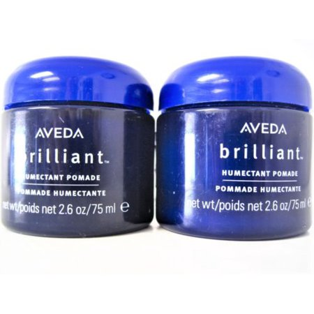 Aveda BRILLIANT HUMECTANT POMADE 2.6 OZ UNISEX (Package Of 2)