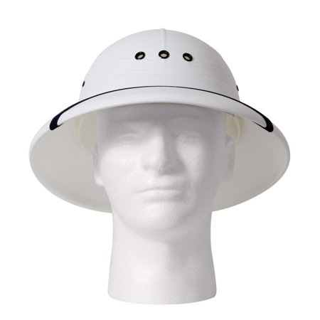 Pith Helmet - White - Cheap Pith Helmet