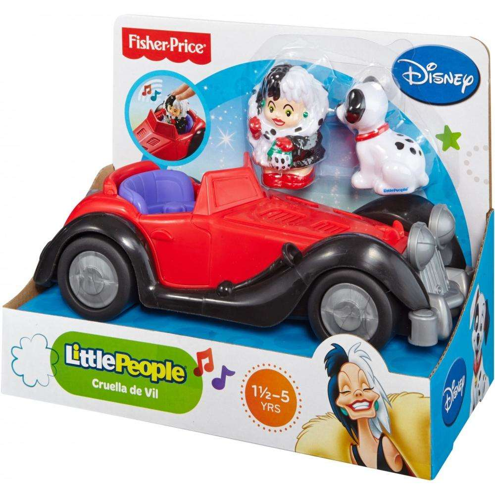 Little People Disney 101 Dalmatians Cruella S Car Walmart Com