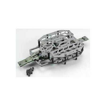 - Integy RC Toy Model Hop-ups T3484 Carbon Fiber Chassis Conversion Set for 1/16 Traxxas Slash VXL