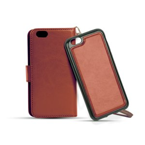 Dual-Folio Wallet Case for Apple iPhone 7 (Brown)