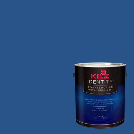 Kilz Identity Interior Exterior Stainblocking Paint Primer In One Rh210 Navy Dress 1 Gallon